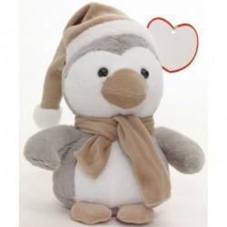 Pluszowy pingwin Pipito, szary