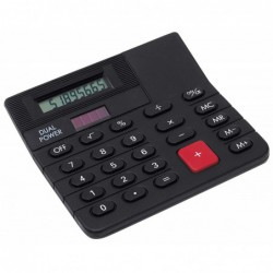 Mini-kalkulator CORNER, czarny