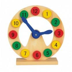 Zegar do zabawy COLOURED...