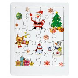 Świąteczne puzzle XMAS...
