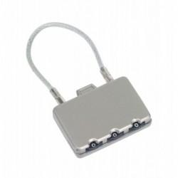 Zamek szyfrowy CLOSE, srebrny